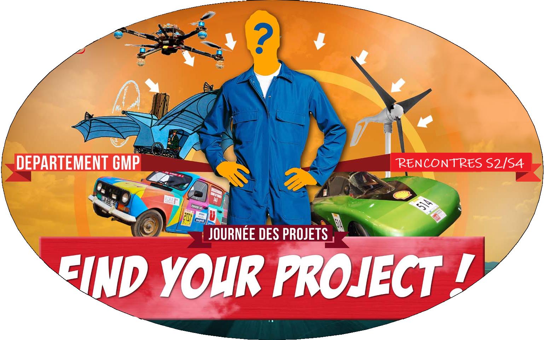 projets DUT GMP génie méca pratique fabriquer concevoir prototypage CAO équipe groupe