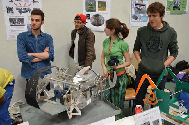 BUT GMP bachelor DUT génie méca projets fille conception fabrication robotique