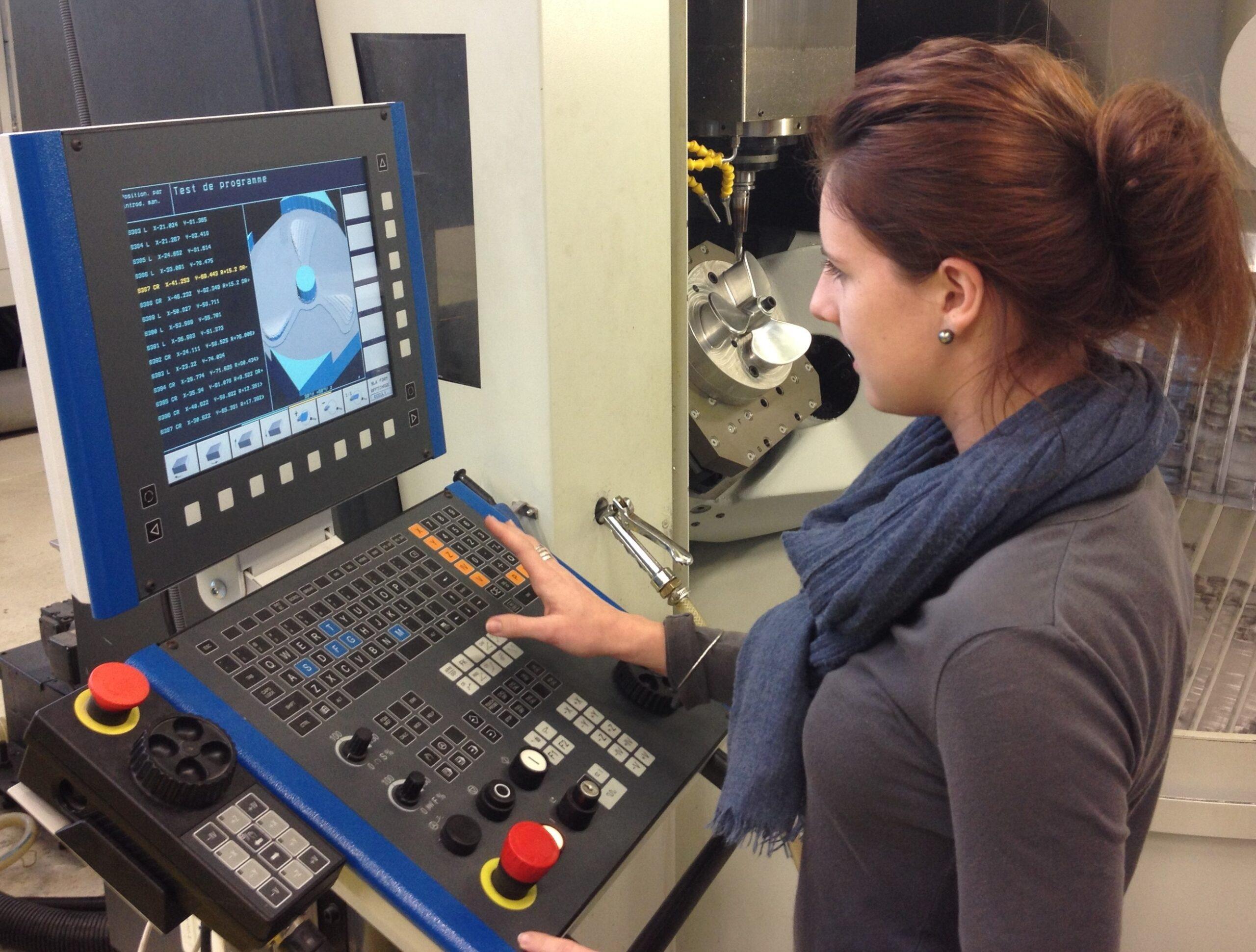 FAO pratique fille programmation technicienne méthodes industrialisation